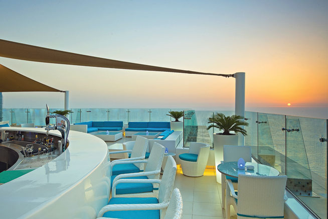 Atlas Continent Contracting L L C Cielo Sky Lounge Dubai